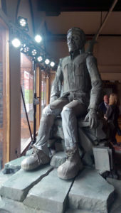Soldier in Old Town Hall