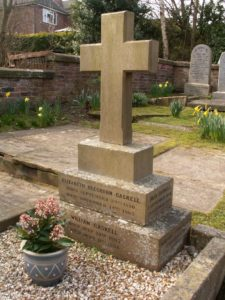 © Brook Street - Gaskell's grave