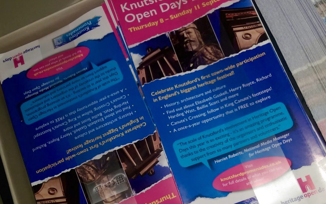 Knutsford Heritage Open Days programme is out!