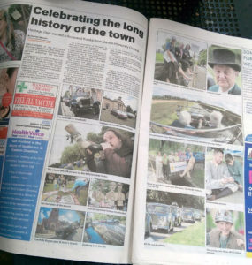 Knutsford Guardian coverage, Wednesday 21 September.